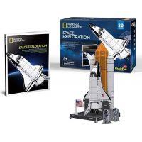 HM Studio 3D puzzle Vesmírny prieskum NG 65 dílků