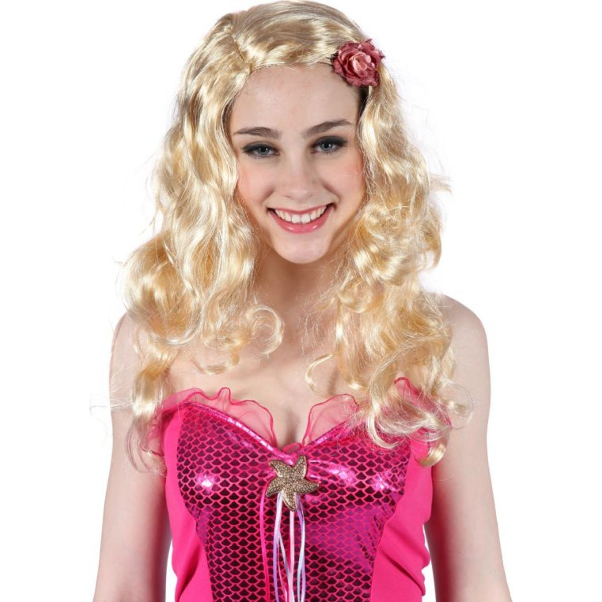 Hm Studio Parochňa blond s ružou
