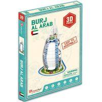 HM Studio 3D puzzle Burj Al Arab 17 dílků