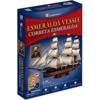 HM Studio 3D puzzle Esmeralda Vessel 306 dílků 2