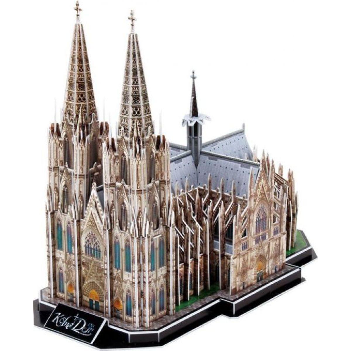 HM Studio Puzzle 3D Katedrála Kolín nad Rýnom 179 dielikov
