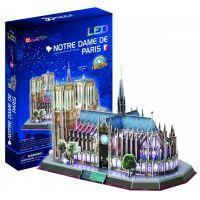 HM Studio 3D puzzle Notre Dame de Paris LED 144 dielikov
