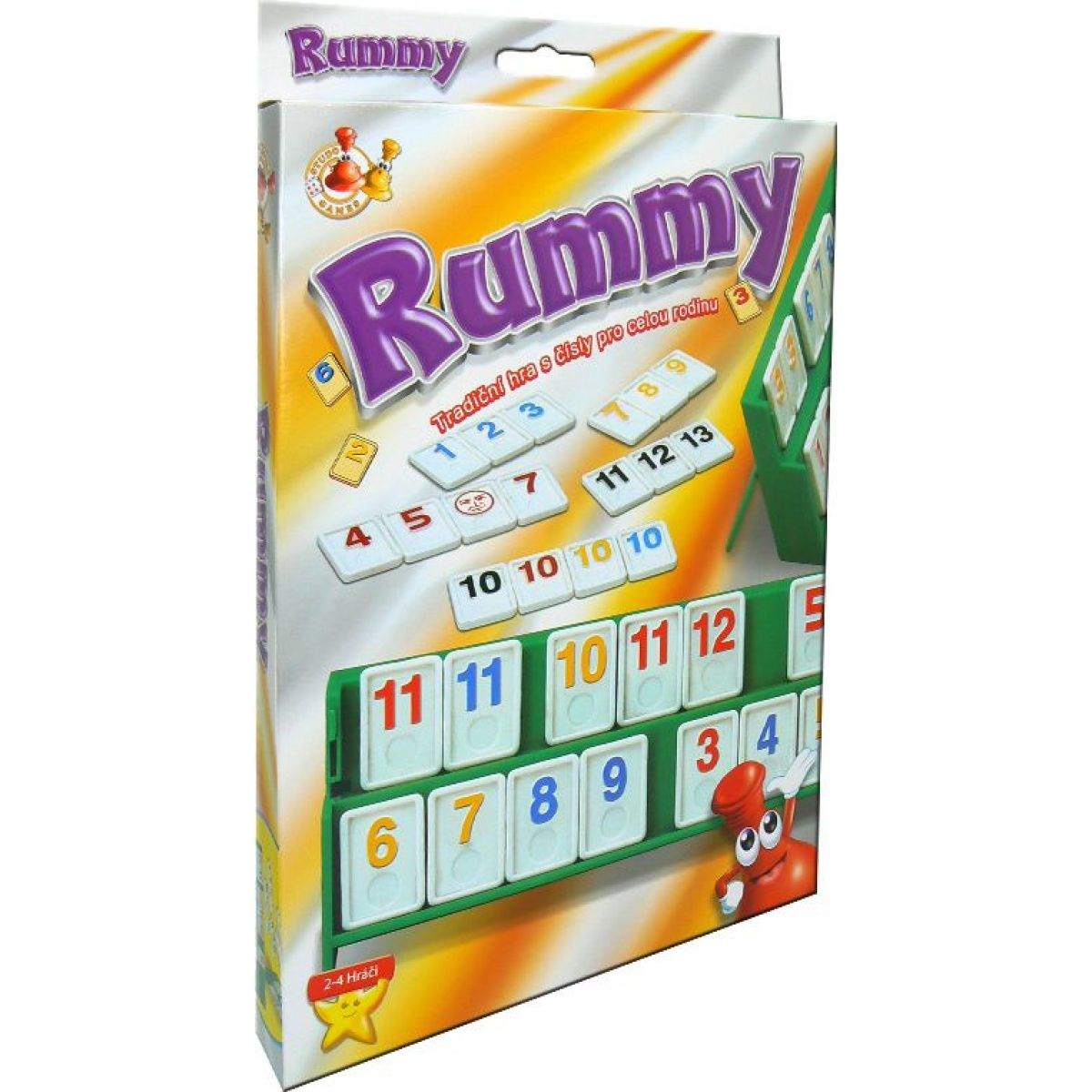 Hm Studio Rummy cestovná hra