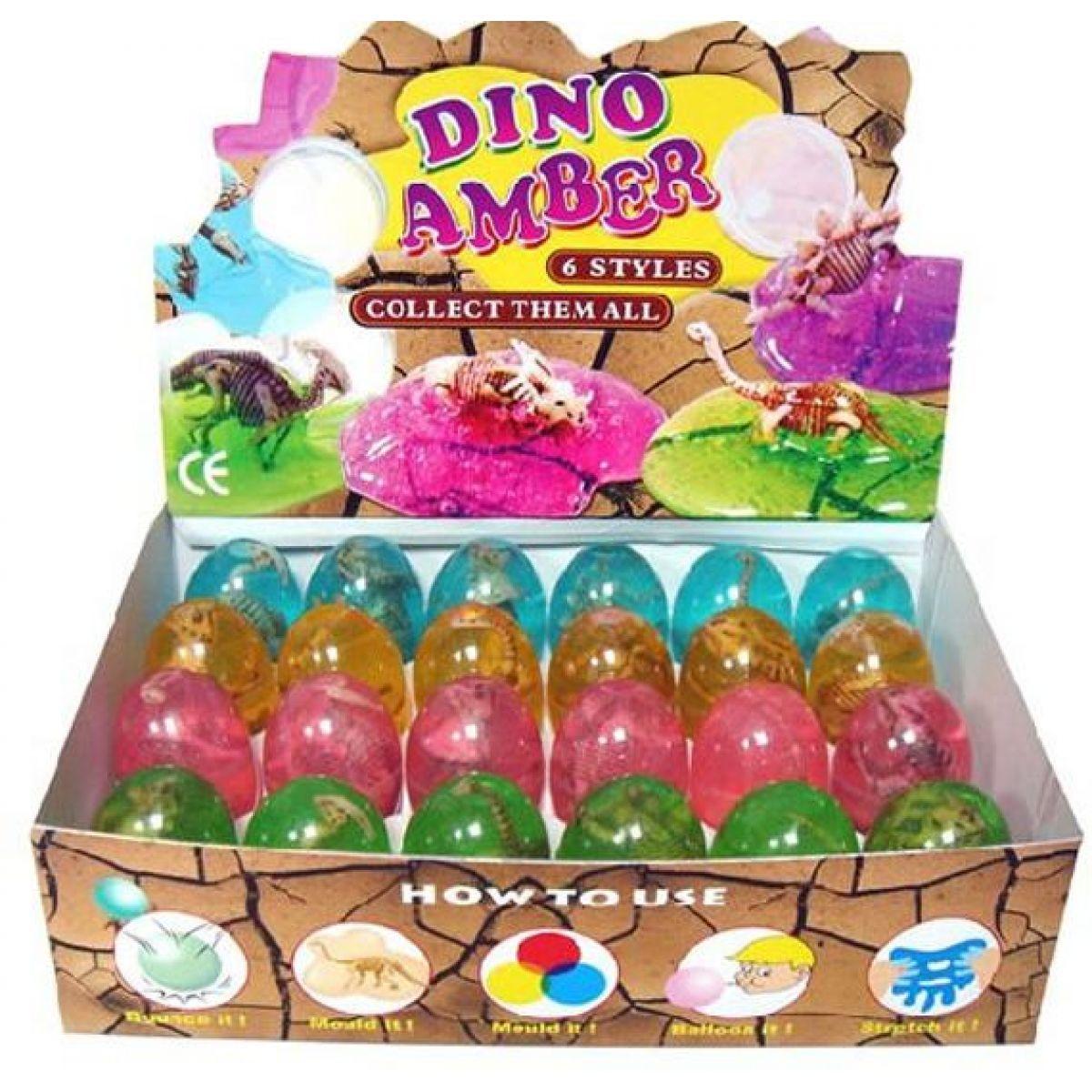 HM Studio Sliz vo vajíčku dinosaurus
