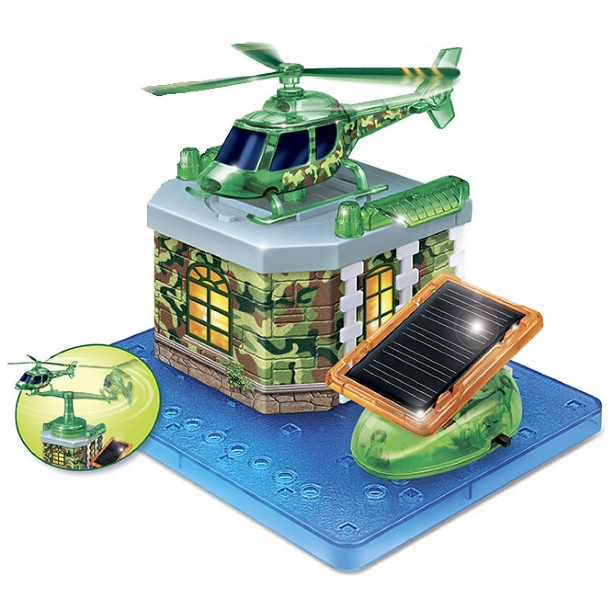 HM STUDIO Solární Vrtulník