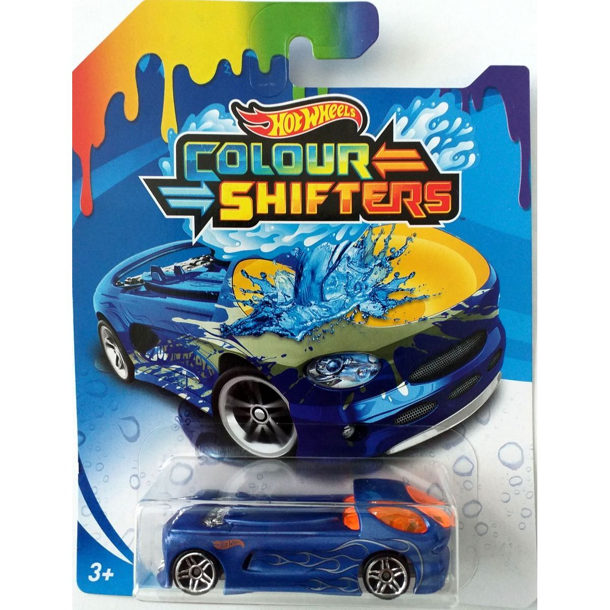 Hot Wheels Angličák Color Shifters Deora II