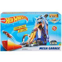 Hot Wheels city garáž so závodnou dráhou 3