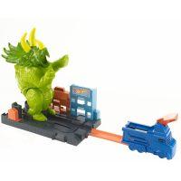 Hot Wheels City Triceratops útočí