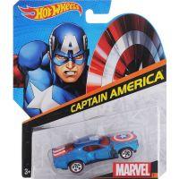 Hot Wheels Marvel kultovní angličák Captain America světle modrý