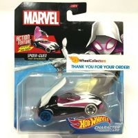 Hot Wheels Marvel kultovní angličák Spider Gwen