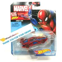 Hot Wheels Marvel kultovní angličák Spinder - Man