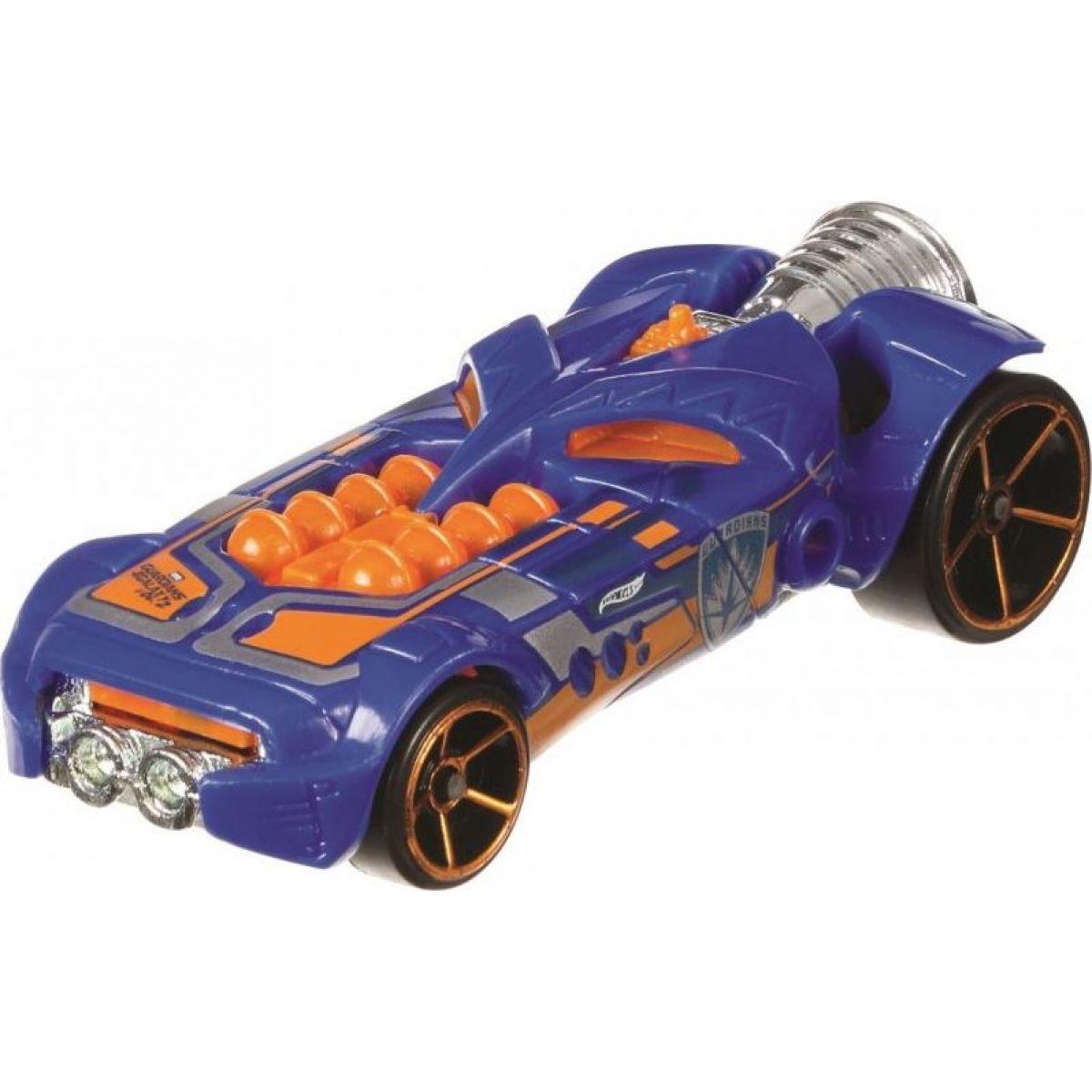 Hot Wheels Marvel strážci galaxie 2 Rocketfire