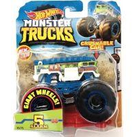 Hot Wheels Monster trucks kaskadérské kousky 5 Alarm