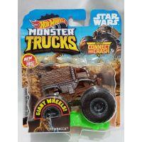 Hot Wheels Monster trucks kaskadérské kousky Chewbacca
