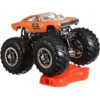 Hot Wheels Monster trucks kaskadérské kousky Dodge Chatger R-T