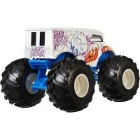 Hot Wheels Monster trucks kaskadérske kúsky Milk Monster 3