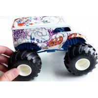 Hot Wheels Monster trucks kaskadérske kúsky Milk Monster 4