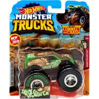 Hot Wheels Monster trucks kaskadérske kúsky Smash Squatch 3