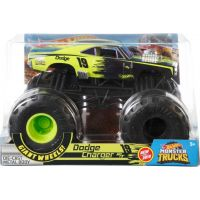 Hot Wheels Monster trucks velký truck Dodge Charger
