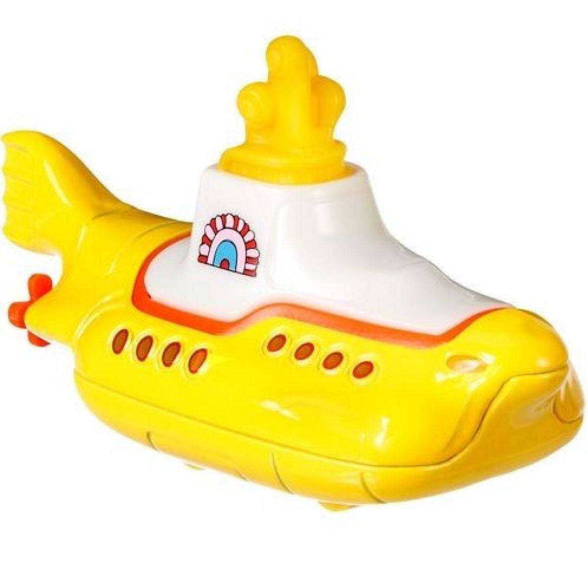Hot Wheels prémiové auto The Beatles Yellow Submarine