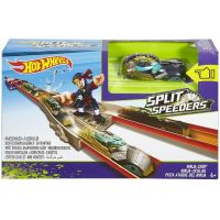 Hot Wheels Split speeders dráha s ninjou 6