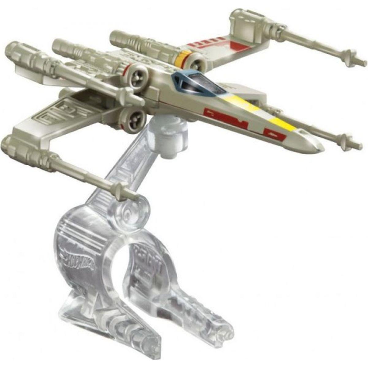 Hot Wheels Star Wars kolekce hvězdných lodí X-Wing Fighter