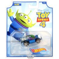 Hot Wheels tematické auto – Toy story Alien