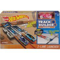 Hot Wheels Track builder doplňky a dráhy DJD68 2-Lane Launcher 2