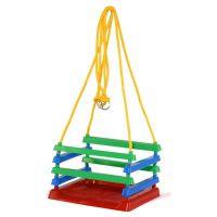 Toy Hojdačka detská plastová farebná na záhradu