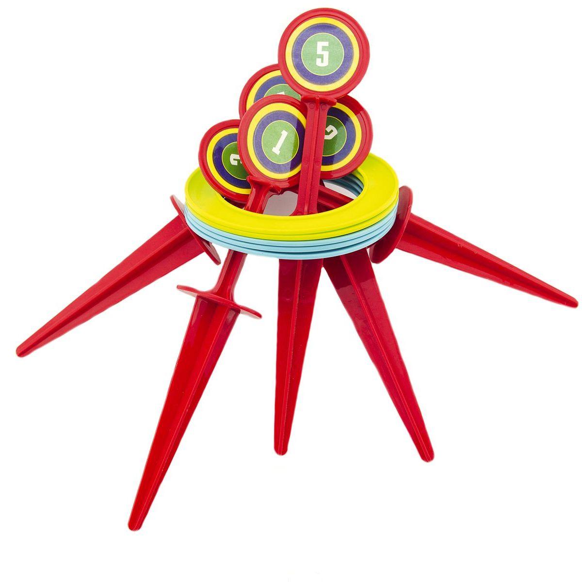 Hra hádzacie krúžky a kolíky 25 cm