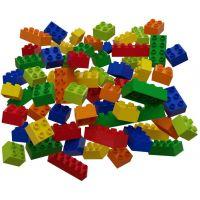 Hubelino Guličkové dráha - kocky farebné 60 ks 2