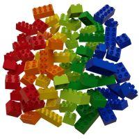 Hubelino Guličkové dráha - kocky farebné 60 ks 3