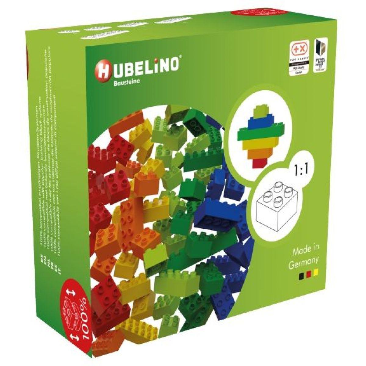 Hubelino Guličkové dráha - kocky farebné 60 ks