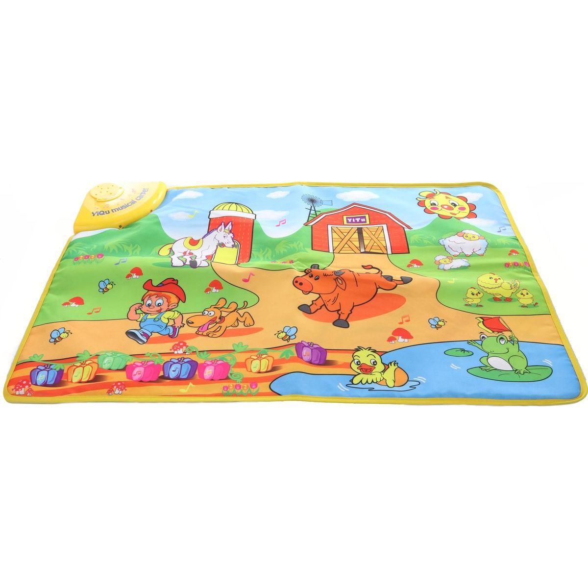 Hudobné koberec Farma