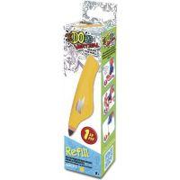 IDO3D Vertical Náhradná náplň Žltá