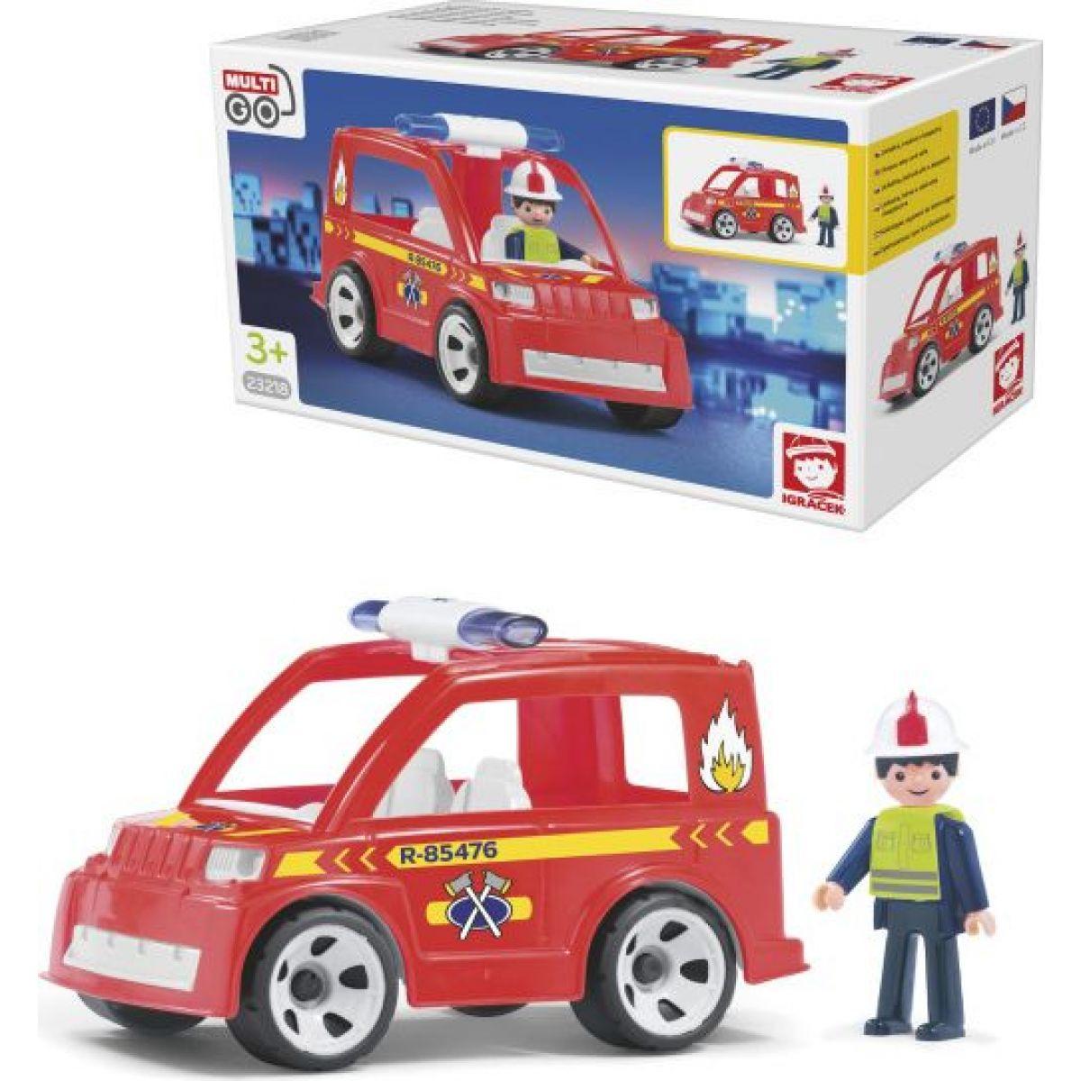Igráček Hasičské auto s hasičom