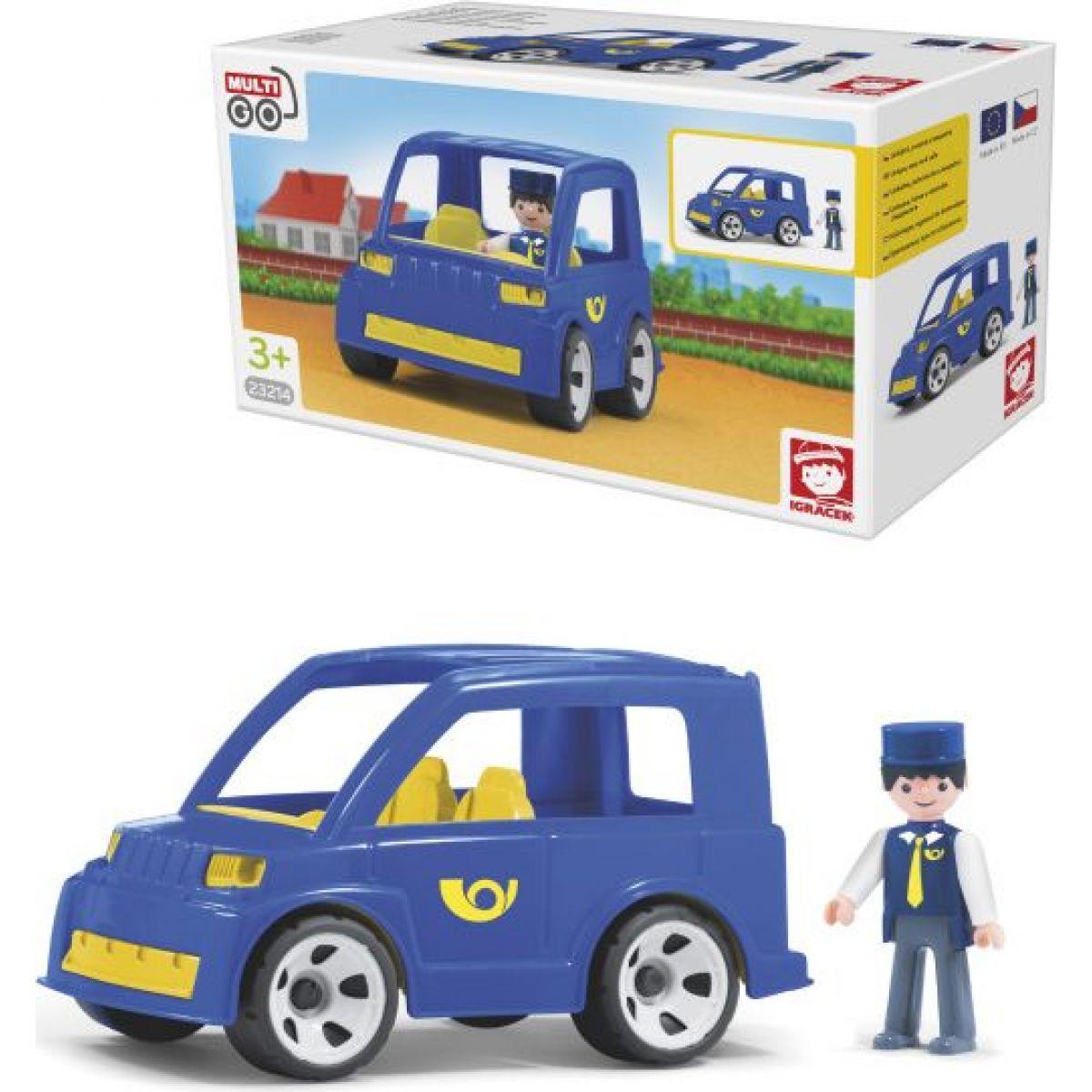Igráček Poštové  auto s poštárom