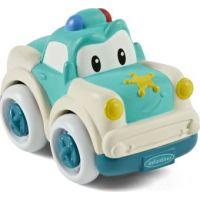 Infantino Autíčko Soft Wheels policajné auto
