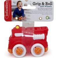 Infantino Autíčko Soft Wheels hasičské auto 3
