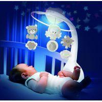 Infantino Hudobný kolotoč s projekciou 3v1 ecru 4