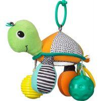 Infantino Závesná korytnačka so zrkadlom a loptičkami