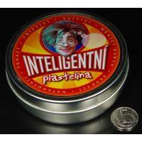 Inteligentna plastelína Šedý kov Grafitová 4