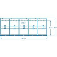 Intex 28200 Bazén kruhový s konštrukciou 305 x 76 cm 2
