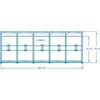 Intex 28202 Bazén kruhový s konštrukciou 305 x 76 cm 2