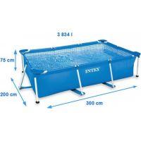 Intex 28272 Bazén obdĺžnikový s konštrukciou 300 x 200 x 75 cm 2
