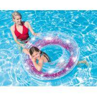 Intex 56274NP Kruh plávacie flitrový Ružový 2