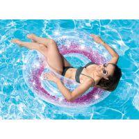 Intex 56274NP Kruh plávacie flitrový Ružový 3