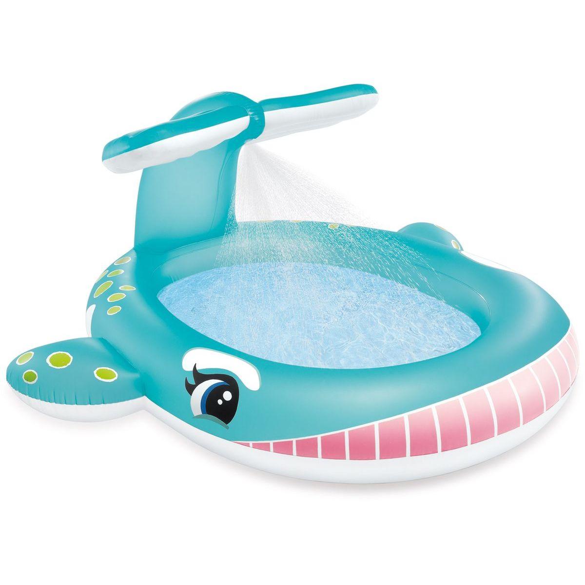 Intex 57440 Bazén detský s rozstrekovaním Veľryba