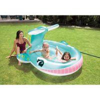 Intex 57440 Bazén detský s rozstrekovaním Veľryba 2
