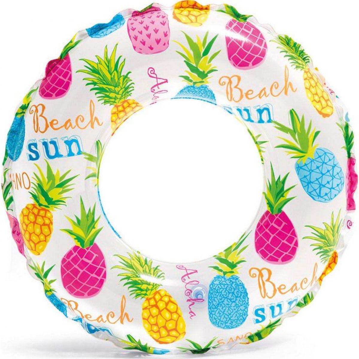Intex 59241 Plávacie kruh 61 cm ananás